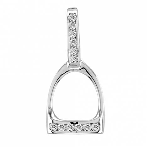 Kelly Herd Large English Stirrup Pendant