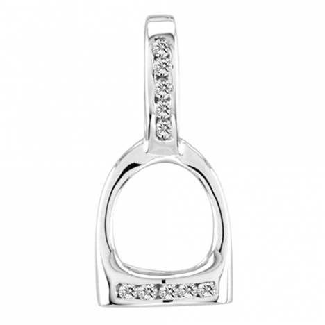 Kelly Herd Small English Stirrup Pendant