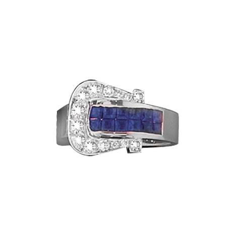 Kelly Herd Elegant Buckle Ring