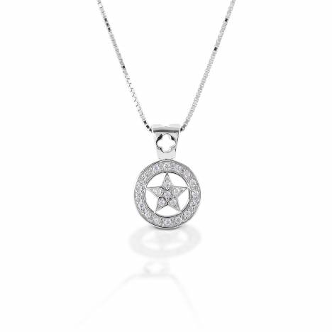Kelly Herd Small Star Pendant - Sterling Silver