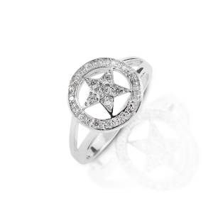 Kelly Herd Small Star Ring - Sterling Silver