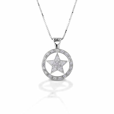 Kelly Herd Large Star Pendant - Sterling Silver