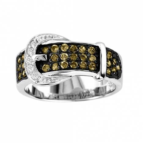 KH Chocolate Buckle Ring