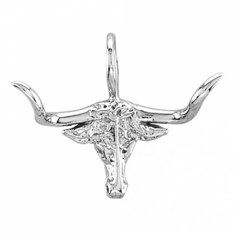 Kelly Herd Small Longhorn Necklace - Sterling Silver