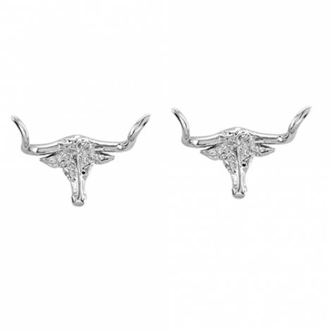 Kelly Herd Longhorn Earrings