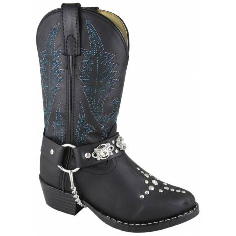 Smoky Mountain Starlight Western Boots - Youth, Black