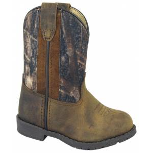 Smoky Mountain  Hopalong Western Boots - Toddler, Brown/Camo