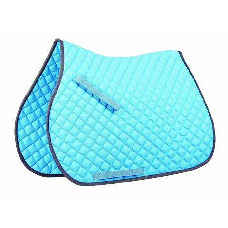 Roma Contrast Piping All Purpose Saddle Pad