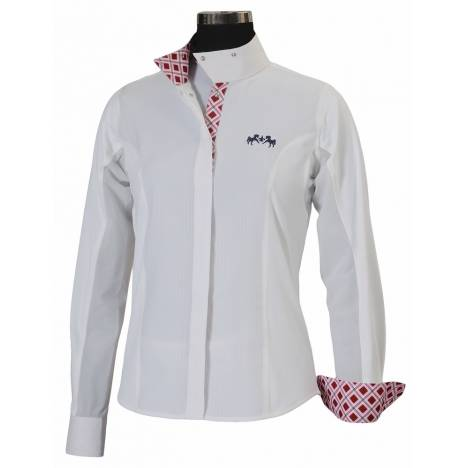 Equine Couture Jenna Show Shirt - Ladies, Long Sleeve