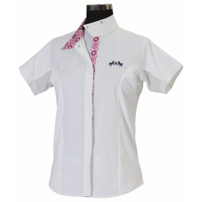 Equine Couture Kelsey Show Shirt - Ladies, Short Sleeve