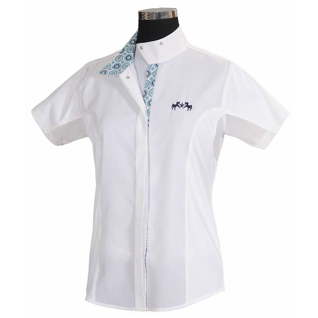 Equine Couture Kelsey Show Shirt - Kids, Short Sleeve