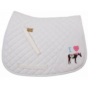 Equine Couture Pony Girl Saddle Pad - All Purpose
