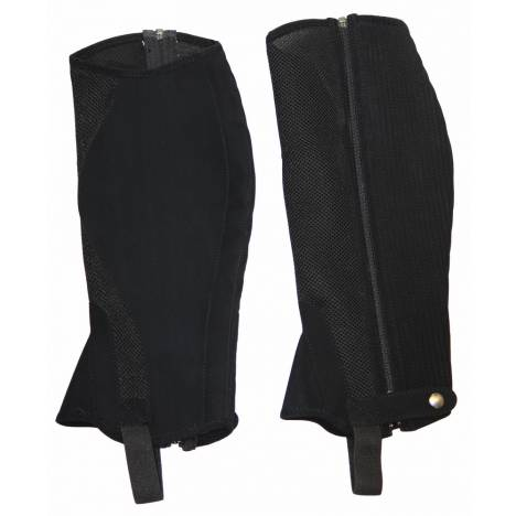 Tuffrider Synthetic Airflow Half Chaps - Kids