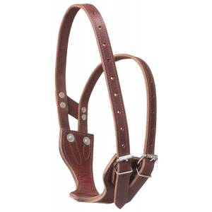 Tough-1 Premium Leather Crib Be Gone Comfort Collar