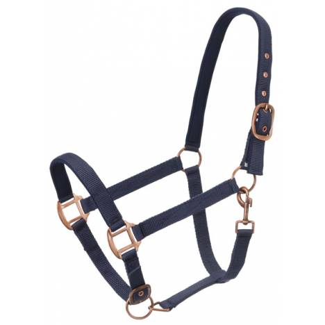 Tough-1 Neoprene Padded Halter with Antique Hardware
