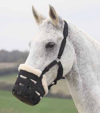 Sizes Shires Deluxe Grazing Muzzle Pony  Assorted Colors