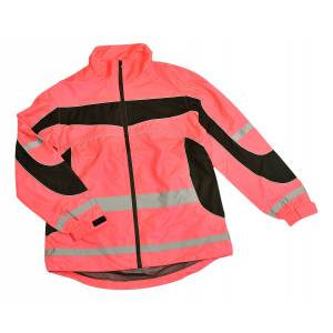 Equisafety Ladies HighVizibility Reflective Lightweight Jacket