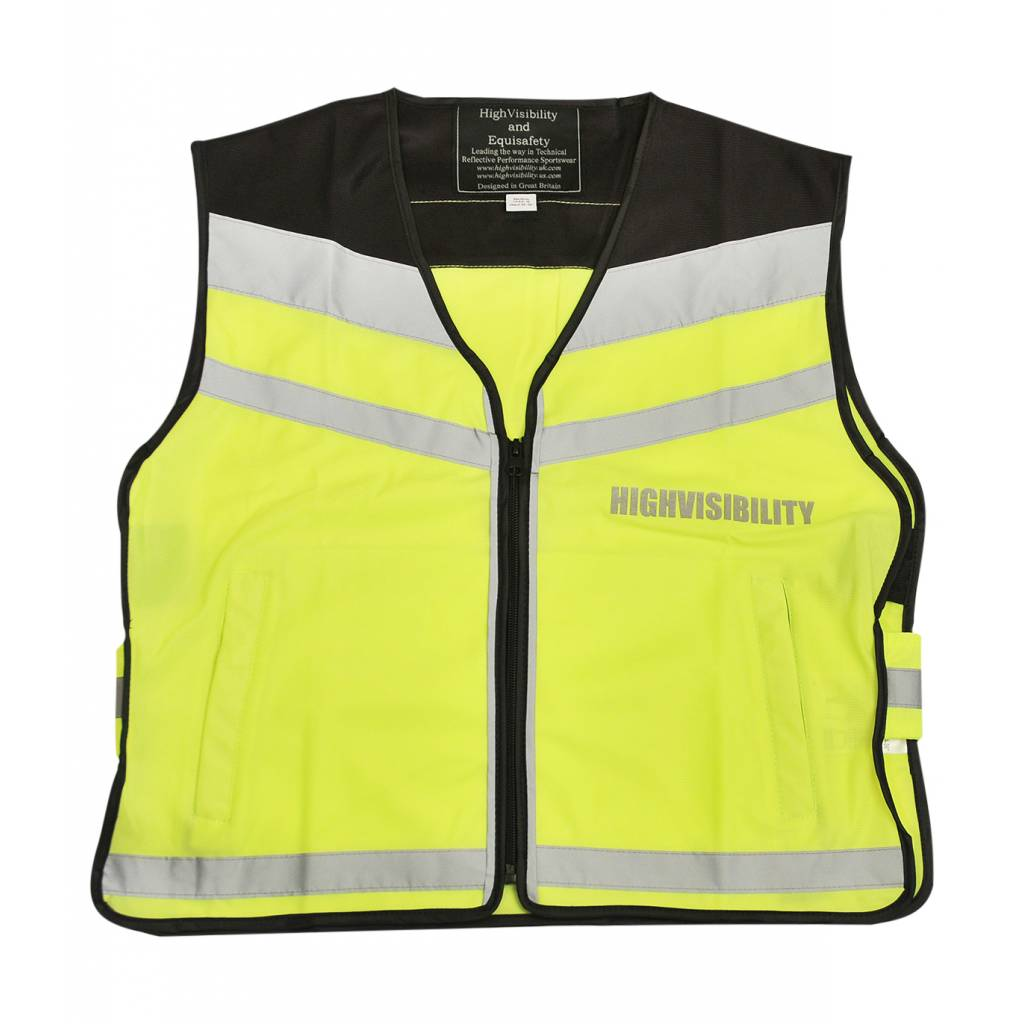 Equisafety Ladies' Reflective Air Waistcoat