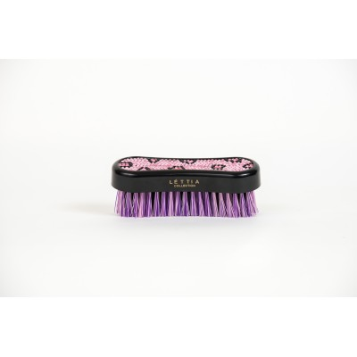 Lettia Collection Face Brush - Crystal Leopard