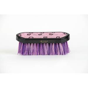 Lettia Collection Dandy Brush - Crystal Leopard