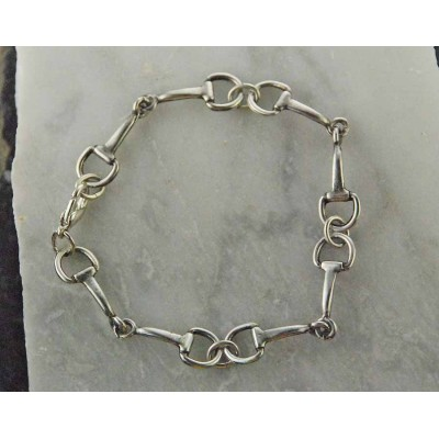 Finishing Touch Smallest Snaffle Bit Bracelet
