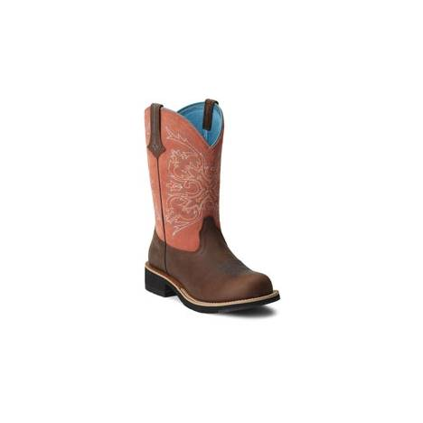 Ariat Fatbaby Cowgirl Tall Boots - Ladies, Copper/Peach