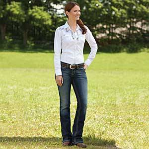 Ariat R.E.A.L. Riding Jean - Ladies, Spitfire