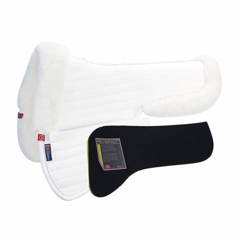 Matrix Ergomonic All Purpose Coolback Half Pad w/Pro-Impact Inserts