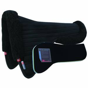 Matrix Ergonomic Dressage Coolback Half Pad with Ortho Impact Inserts
