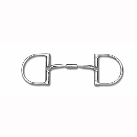 Myler Level 1 English Dee Stainless Comfort Snaffle Wide Barrel Bit with o Hooks