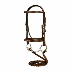 Silverleaf Fancy Bridle with Reins