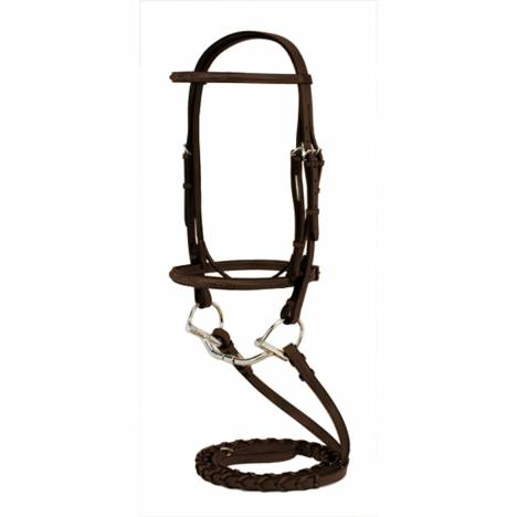 Silverleaf Fancy Raised Bridle with Reins