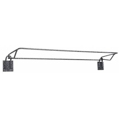 Tough-1 Fold Down Blanket Rack in Hammered Finish