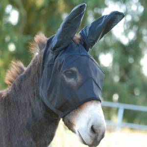 Cashel Quiet Ride Standard Fly Mask with  Mule Ears