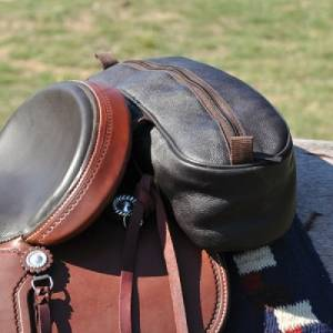 CASHEL Leather Shaped Cantel Bag