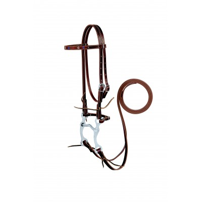 Weaver Star Embroidered Bridle