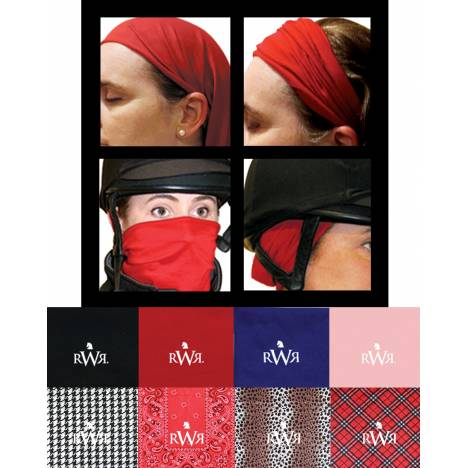 Real Women Ride No Knot Exercise Bandana