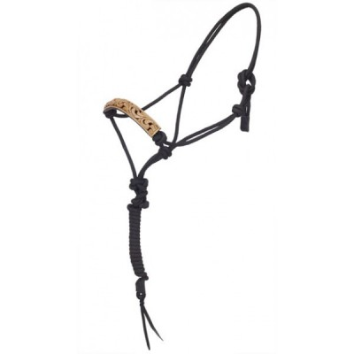 Turn-Two Rope Halter - Mesquite Canyon, Lead
