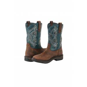 Noble Equestrian Ranch Tough Boots - Mens, Square Toe