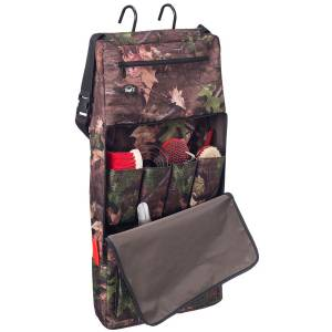 Tough-1 Print Portable Grooming Organizer - Tough Timber