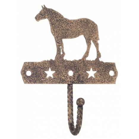 Gift Corral Single Hook - Draft Horse