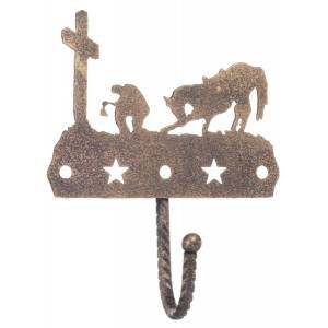 Gift Corral Single Hook - Western Cross