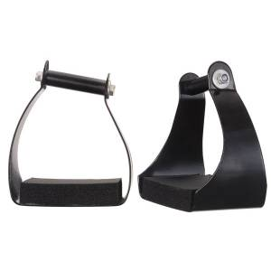 Tough-1 Angled Aluminum Endurance Stirrup