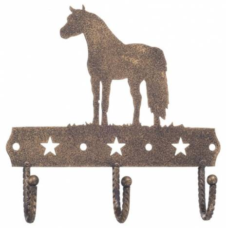 Gift Corral 3 Hook Rack - Miniature Horse