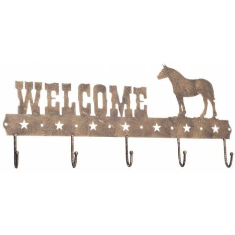 Gift Corral Welcome Sign Hook - Draft Horse