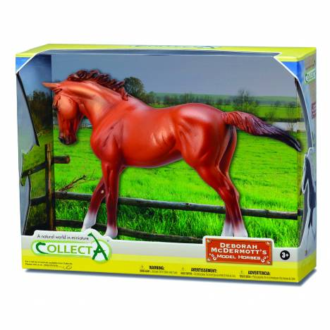CollectA Chestnut Thoroughbred Mare
