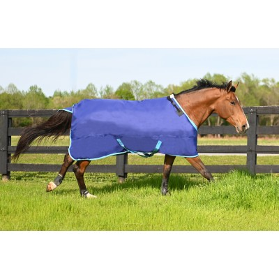 HUG Prize Turnout Blanket - Medium Weight, Navy