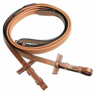 Pessoa  Biothane Lined Rubber Covered Reins