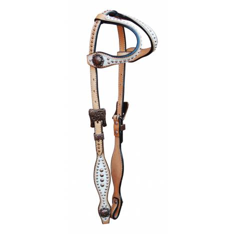 Turn-Two Double Ear Headstall - Abilene