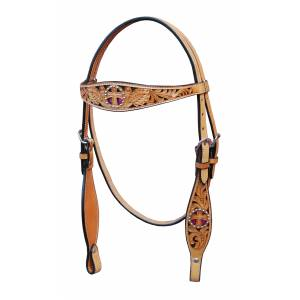 Turn-Two Browband Headstall - St. Christopher